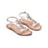 Sandali in pelle mini-b, bianco, 364-1128 - 16