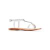Sandali in pelle mini-b, bianco, 364-1126 - 13