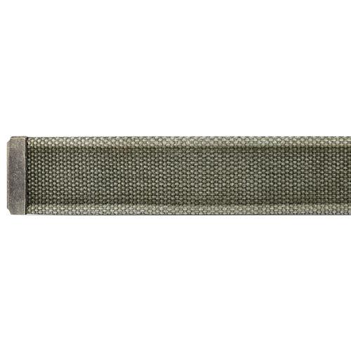 Cintura in canvas bata, verde, 959-7336 - 16