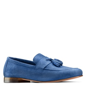 Mocassini con nappa bata-the-shoemaker, blu, 853-9140 - 13