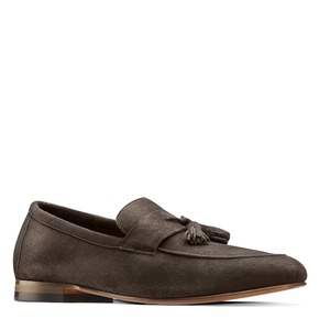 Mocassini con nappa bata-the-shoemaker, marrone, 853-4140 - 13