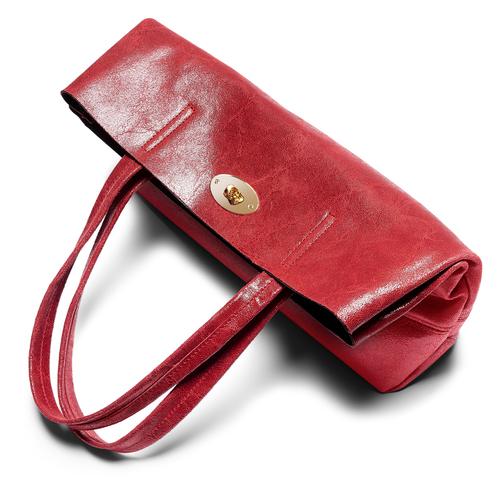 Borsa a spalla bata, rosso, 964-5357 - 17