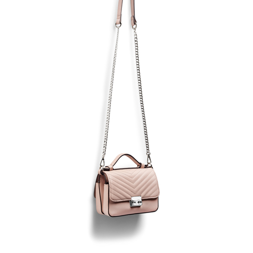 Minibag in similpelle bata, beige, 961-8277 - 17