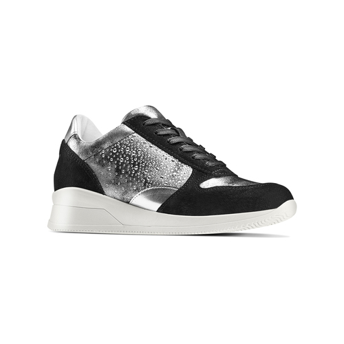 Sneakers Casual bata, nero, 523-6459 - 13