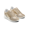 Sneakers Casual bata, beige, 523-8459 - 16