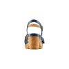 Sandali con fiocco bata-touch-me, blu, 664-9302 - 15