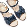 Sandali con fiocco bata-touch-me, blu, 664-9302 - 26