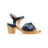 Sandali con fiocco bata-touch-me, blu, 664-9302 - 13