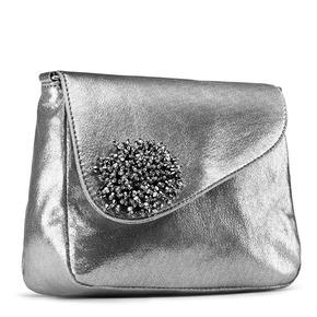 Tracolla effetto metallizzato bata, grigio, 961-2394 - 13
