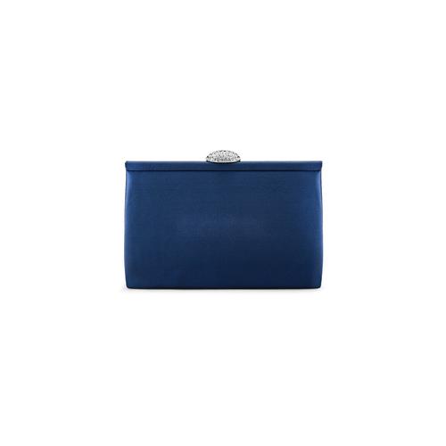 Pochette con tracolla bata, blu, 969-9320 - 26