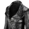 Giacca in vera pelle bata, nero, 974-6116 - 15