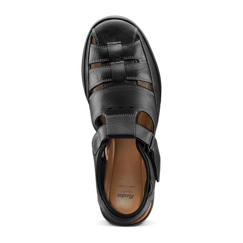 Sandali da uomo bata-comfit, nero, 864-6126 - 17