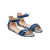Sandali da donna insolia, blu, 569-9277 - 16