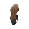 Sandali con strass bata, nero, 569-6256 - 19