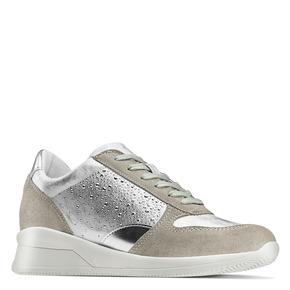 Sneakers Casual bata, grigio, 523-2459 - 13