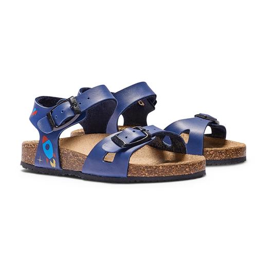 Sandali con navicella spaziale mini-b, blu, 261-9210 - 26
