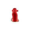 Sandali con tacco largo insolia, rosso, 769-5245 - 15