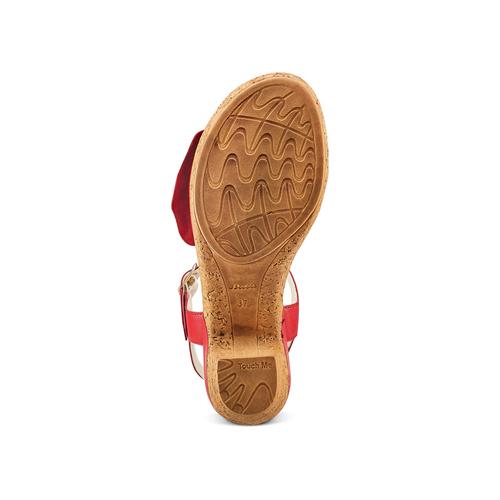 Sandali con fiocco bata-touch-me, 664-0302 - 19
