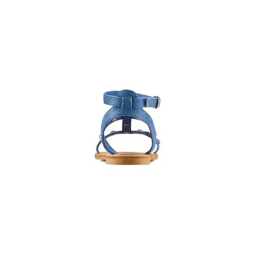 Sandali da bambina mini-b, blu, 369-9209 - 15