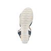 Sandali Insolia con zeppa insolia, blu, 769-9251 - 19
