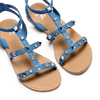 Sandali da bambina mini-b, blu, 369-9209 - 26