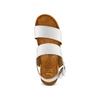 Sandali zeppa effetto legno bata, bianco, 664-1369 - 17