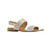 Sandali con strass bata, grigio, 569-2256 - 13