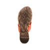 Infradito in pelle bata, arancione, 564-5321 - 19