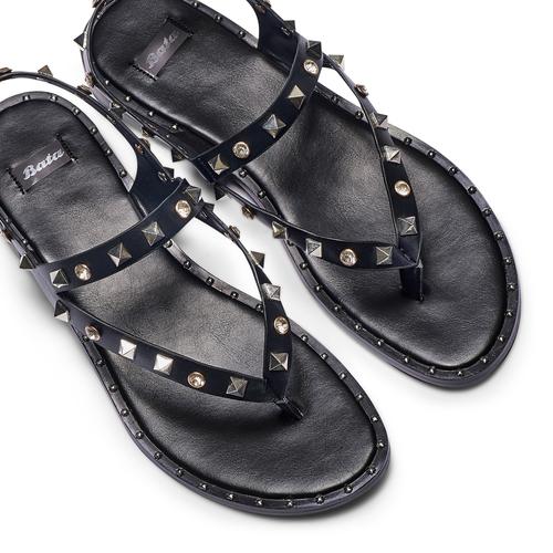 Sandali infradito bata, nero, 561-6240 - 26