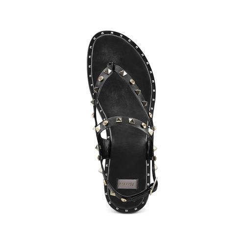 Sandali infradito bata, nero, 561-6240 - 17
