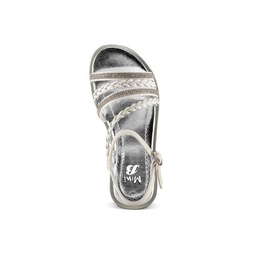 Sandali da bambina mini-b, argento, 361-1197 - 17