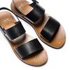 Sandali in pelle bata, nero, 664-6150 - 26