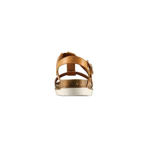 Sandali da donna bata, marrone, 561-8295 - 15