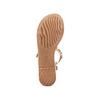 Sandali con applicazioni bata, argento, 561-8544 - 19