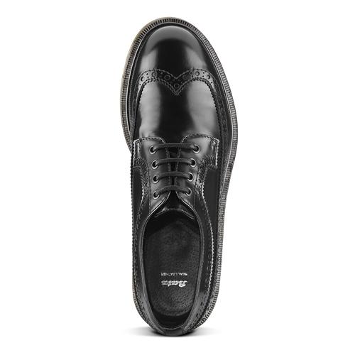 Scarpe stringate uomo bata, nero, 824-6354 - 15