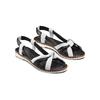 Sandali in vera pelle bata, nero, 564-6525 - 16