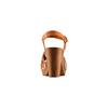 Sandali con tomaia traforata bata, marrone, 764-3112 - 15
