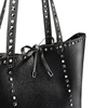 Shopper con borchie bata, nero, 961-6280 - 15