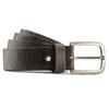 Cintura Made in Italy in pelle bata, marrone, 954-4166 - 13