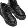 Sneakers alte con platform bata, nero, 541-6231 - 17