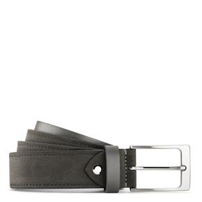 Cintura in suede bata, grigio, 953-2116 - 13