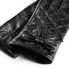 Guanti Bata da donna in vera pelle bata, nero, 904-6139 - 26