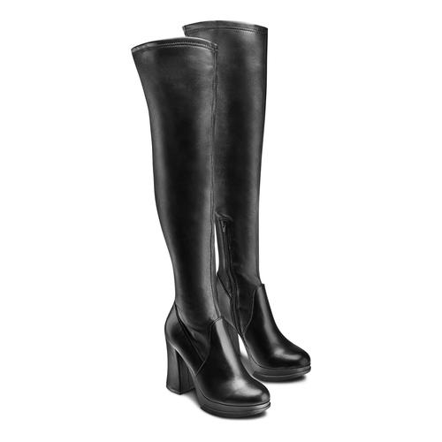 Boot  bata, nero, 791-6292 - 16