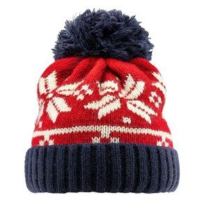 Cappello Bata con pom pon bata, rosso, 909-5466 - 13