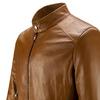 Giacca da uomo in vera pelle bata, marrone, 974-0154 - 15