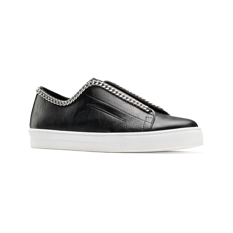 scarpe slip on nere