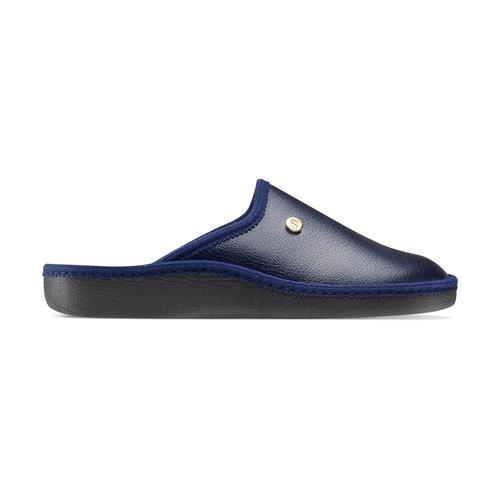Pantofole blu da uomo bata, blu, 871-9304 - 26